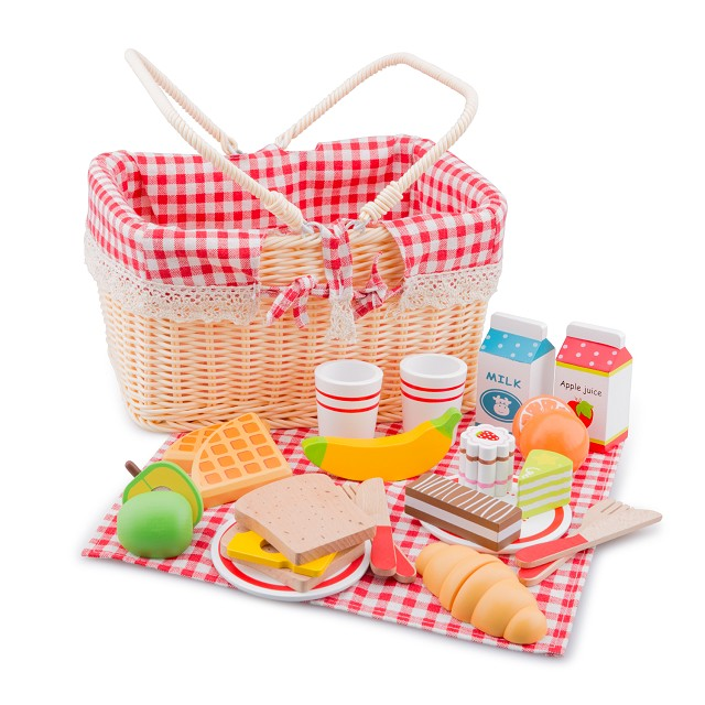 Toy Picnic Basket : New classic toys picnic basket set pieces