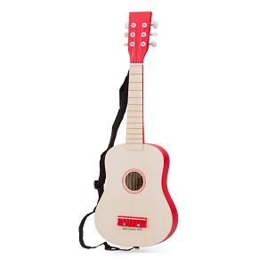 New Classic Toys - Guitar - naturel/red