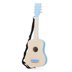 New Classic Toys - Guitar - naturel/blue