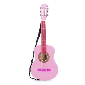 New Classic Toys - Guitar Classic with Guitarbag - Pink