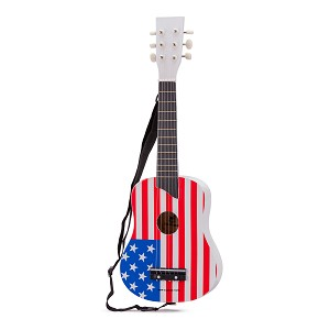 New Classic Toys - Guitar de Luxe - Flag USA