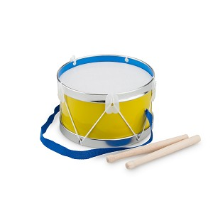 New Classic Toys - Drum - Yellow - Ø 17 cm