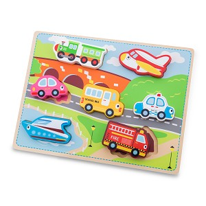 New Classic Toys - Chunky Transport Puzzle