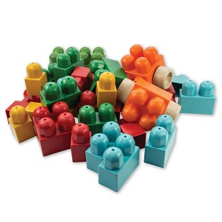 Anbac Toys - Brick Assortment - 40 pcs.
