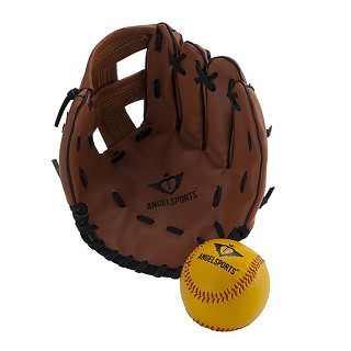 Angelsports - Baseball Glove and Ball