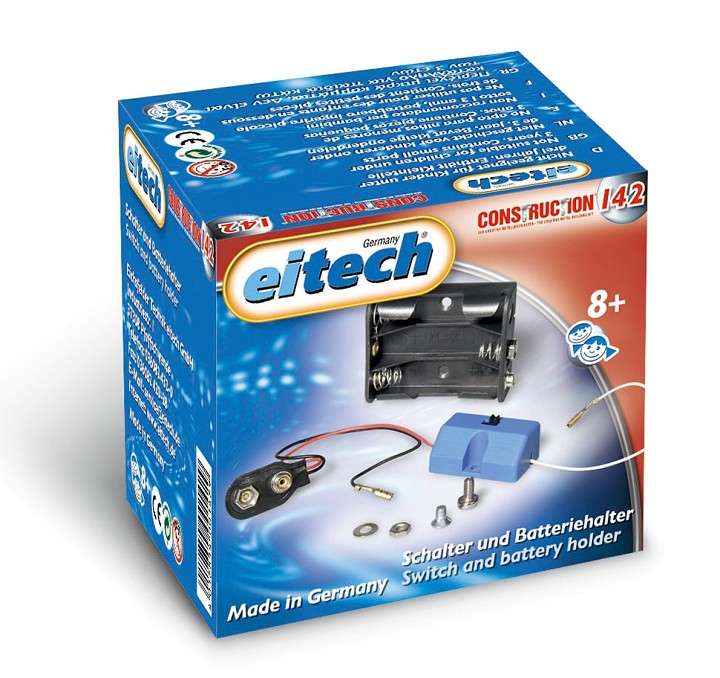 Eitech Supplements Sets - Battery - Case with Switch
