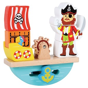 Lelin Toys - Balance game - pirate - 7 pcs.