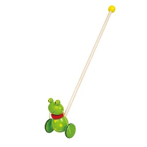 Lelin Toys - Push Toy - Happy Frog