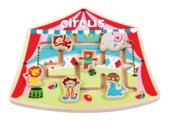 Lelin Toys - Puzzle Labyrinth - Circus