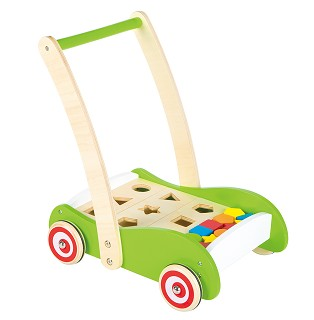 Lelin Toys - Babywalker with Sorting Board and Blocks