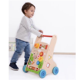 Lelin Toys - Babywalker - Activity Cart (7 in 1)