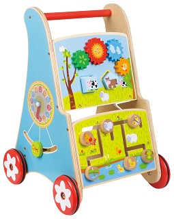 Lelin Toys - Babywalker - Activity Cart