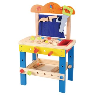 Lelin Toys - Wooden Workbench
