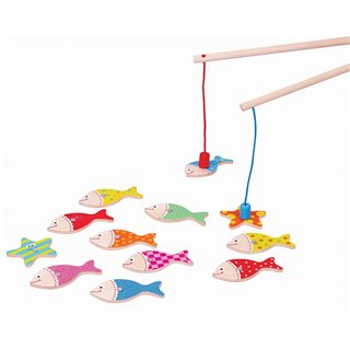 Lelin Toys - Magnetic Fishing Game