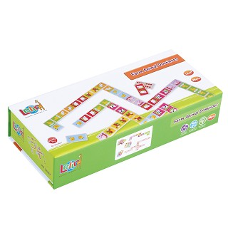 Lelin Toys - Dominoes - Farm - 28 pcs.