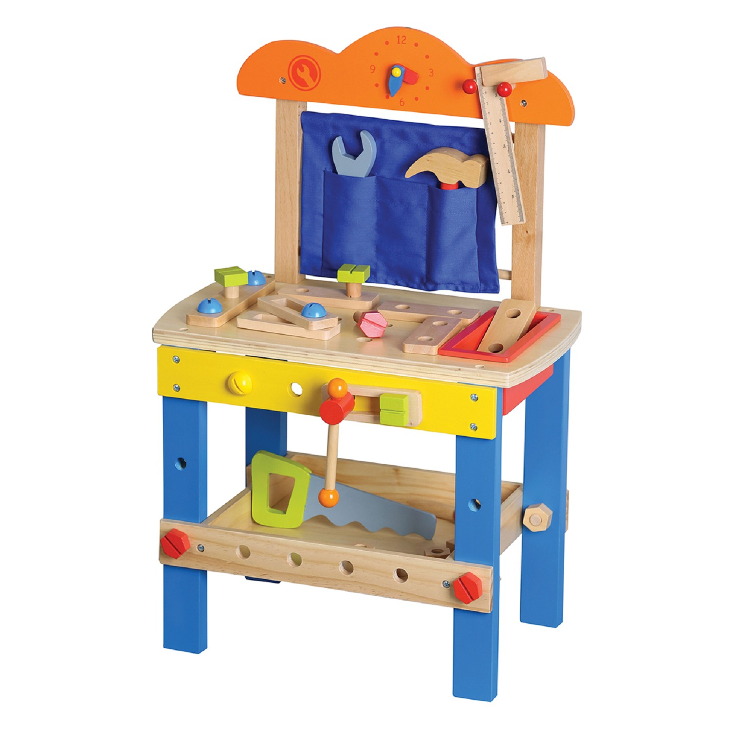 Wooden Toys Product : Lelin toys wooden workbench new classic