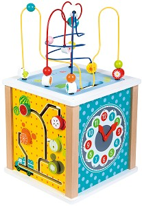 Lelin Toys - Activity Cube - Farm