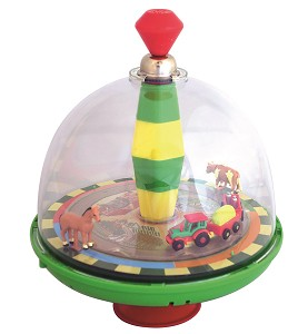 New Classic Toys - Panorama E-top with chip - farm