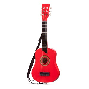 New Classic Toys - Guitar de Luxe - Red