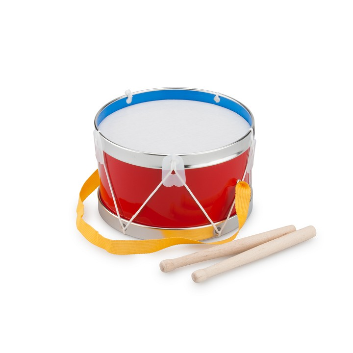 New Classic Toys - Drum - Red - Ø 17 cm
