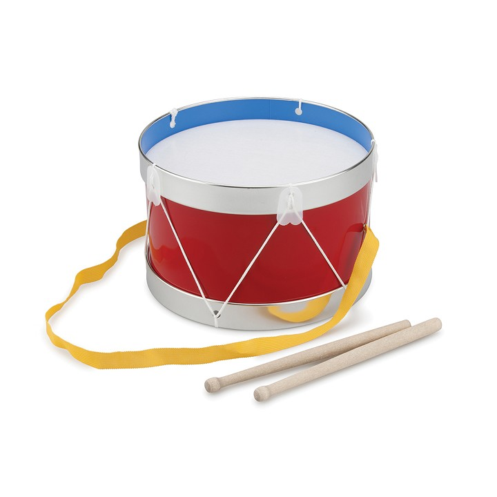 New Classic Toys - Drum - Red - Ø 22 cm
