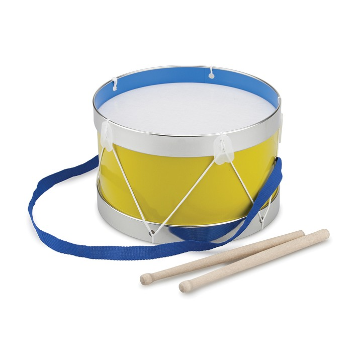 New Classic Toys - Drum - Yellow - Ø 22 cm