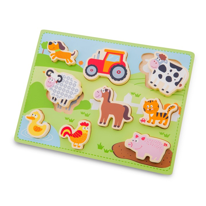 New Classic Toys - Chunky Farm Puzzle