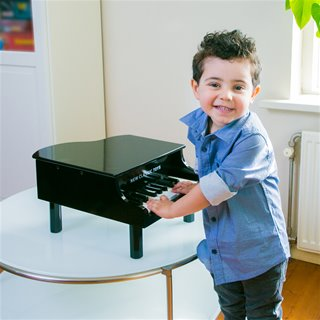 New Classic Toys - Grand Piano Black - 18 keys