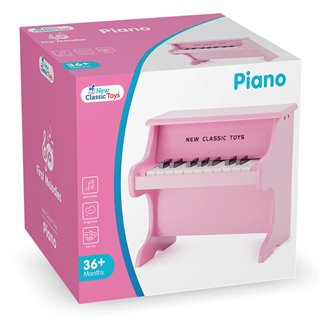 New Classic Toys - Piano Pink - 18 keys