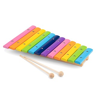 New Classic Toys - Xylophone (12 bars) Wood - Multicolor