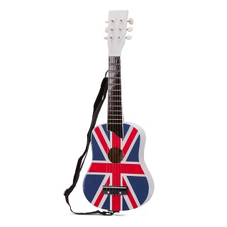New Classic Toys - Guitar de Luxe - Flag UK