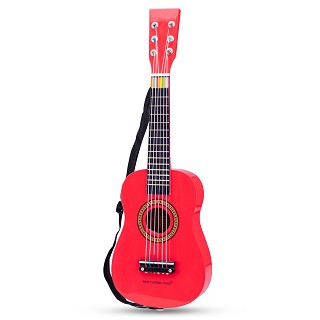 New Classic Toys - Guitar - Red