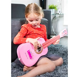 New Classic Toys - Guitar - Pink