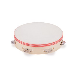 New Classic Toys - Tambourine 6 prs. Jingle