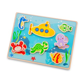 New Classic Toys - Chunky Sea Puzzle