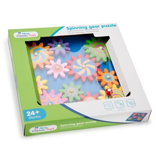 New Classic Toys - Spinning Gear Puzzle