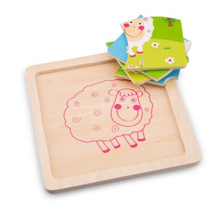 New Classic Toys - Mini Puzzle - Sheep