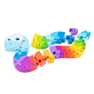 New Classic Toys - Alphabet Puzzle - Snake