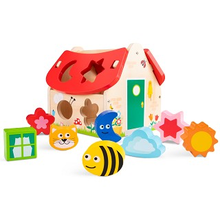 New Classic Toys - Shape Sorter House