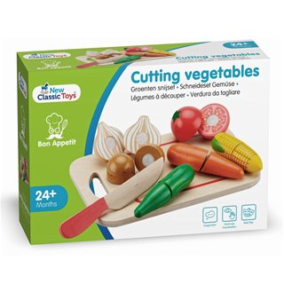 New Classic Toys - Cutting Meal - Vegetables - 8 pieces