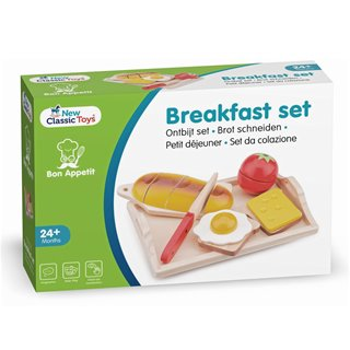 New Classic Toys - Cutting Meal - Breakfast Tray