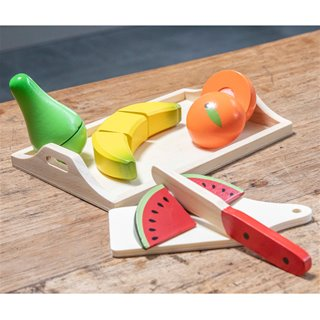 New Classic Toys - Cutting Meal - Fruit Tray