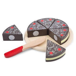 New Classic Toys - Cutting Cake - Chocolate