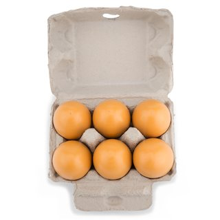 New Classic Toys - Wooden Eggs - 6 pcs.