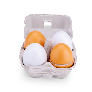 New Classic Toys - Wooden Eggs - 4 pieces