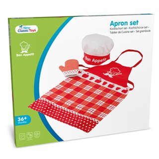 New Classic Toys - Apron - Red