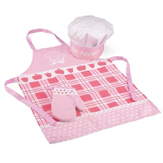 New Classic Toys - Apron - Pink