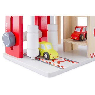 New Classic Toys - Garage with Carwash and 2 Cars