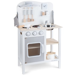 New Classic Toys - Kitchenette - Bon Appetit - White/Silver
