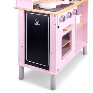 New Classic Toys - Kitchenette - Modern - Electric Cooking - Pink